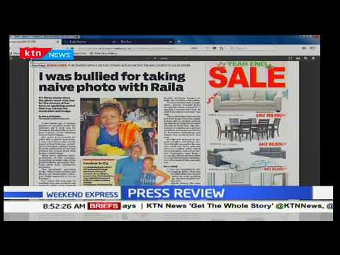 Kenyan woman bullied for taking naive photo with Raila