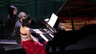 Liszt: Les Préludes for 4 hands (Miho Morimoto, Sándor Falvai)