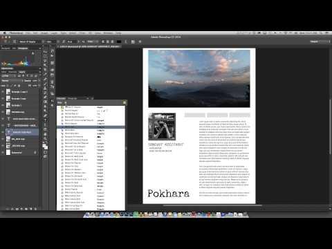 Photoshop CC 2014 - 05 font typekit [ Thai ]