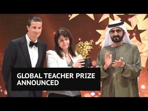 Canadian teacher Maggie MacDonnell wins $1m Global Teacher Prize