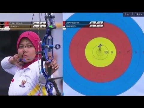 Indonesia Vs Vietnam - Sea Games 2017 - Final - Archery Women's Compound Individual