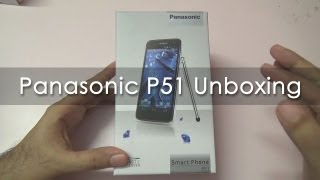 Panasonic P51 Android Phone Unboxing & Overview