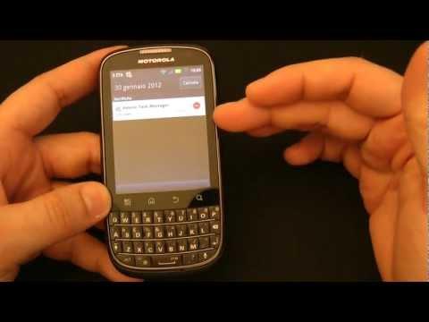 Motorola Pro+ android con tastiera fisica video prova by HDblog