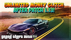 "GTA 5 Online - *SOLO* UNLIMITED MONEY GLITCH"" - UNLIMITED MONEY GLITCH 1.13 (After 1.13 Patch)"