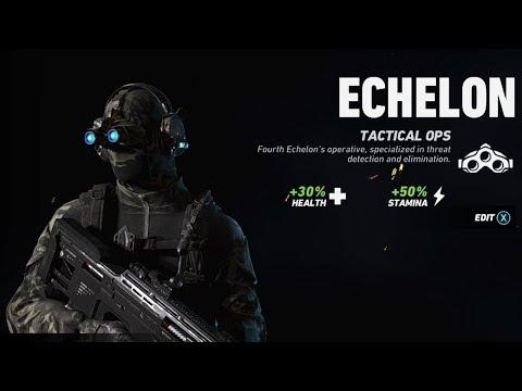 ECHELON OPERATOR GAMEPLAY! // NEW SC-4000, PROXIMITY MINES, SONAR VISION! // Ghost War
