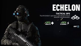 ECHELON OPERATOR GAMEPLAY! // NEW SC-4000, PROXIMITY MINES, SONAR VISION! // Ghost War