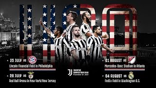 The bianconeri are returning to united states play in international champions cup as part of our summer tour 2018 powered by jeep! which match are...