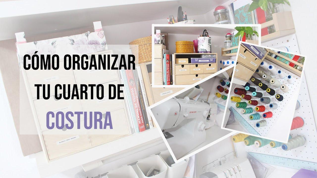 IDEAS DE ORGANIZACIÓN DEL CUARTO DE COSTURA: Cómo tengo organizado ...