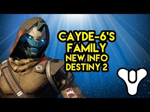 Destiny 2 Lore Cayde-6's Family NEW info