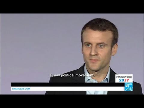 France Presidential Election: Portrait of Emmanuel Macron