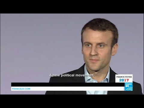 France Presidential Election: Portrait of Emmanuel Macron