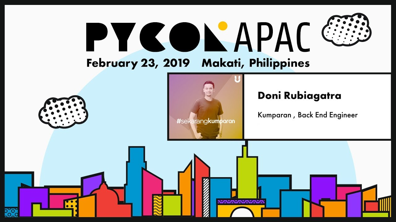Image from Pycon APAC 2019 - Doni Rubiagatra - Turn your Flask App into Async using Quart