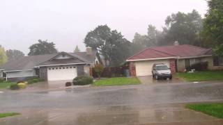 Thunder Storm And Double Rainbow 10-25-14 Redding, Ca