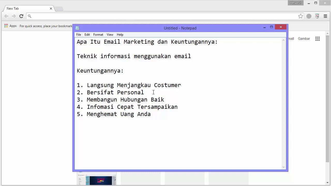 2 Apa Itu Email Marketing dan Keuntungannya - YouTube