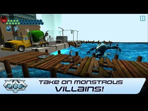 Max Steel Android & iOS GamePlay