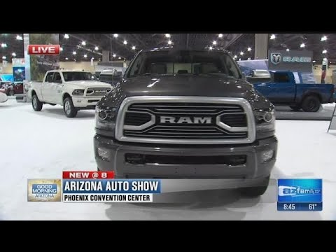 The Arizona Auto Show takes over the Phoenix Convention Center