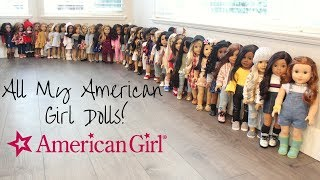 All My American Girl Dolls I Winter 2019 MASSIVE Collection!