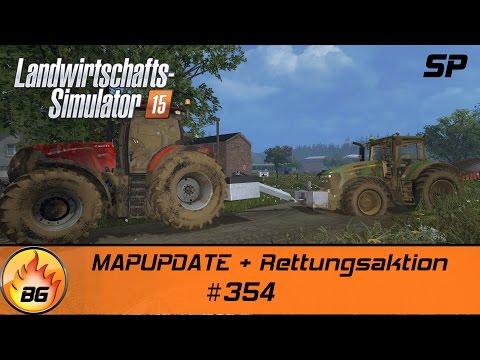 LS 15 Belgique Profonde #354 | MAPUPDATE + Rettungsaktion (NEU) | Lets Play [HD]