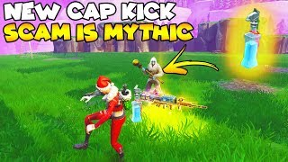 NEW Cap Kick Scam is Legendary! 🎮💯 (Scammer Gets Scammed) Fortnite Save The World
