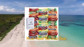 Hurricane Emergency Disaster Energy Bars Assorted Flavors