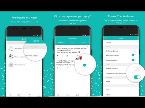 How to Install Sarahah Messaging App & Link Your Account to the Anonymous  Messaging App on Snapchat