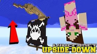 Minecraft: UPSIDE DOWN PIRATE SHIP CHALLENGE! - Upside Down Modded Survival [2]