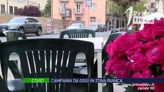 Covid, Campania da oggi in zona bianca: meno restrizioni e addio coprifuoco