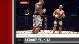 Knockout of the Day: Karol Bedorf's Crushing Head Kick at KSW 33