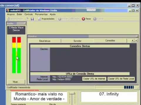 Como Configurar O Windows Media Encoder Para Trasmissão De Audio Em Radio Online
