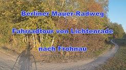 Berliner Mauer-Radweg Teil 1 - Von Lichtenrade nach Frohnau