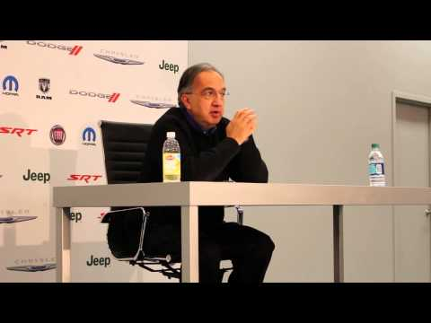 Chrysler CEO Sergio Marchionne Talks Canadian Investment