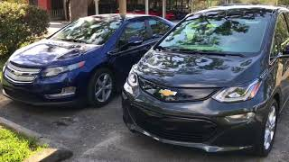 My 2013 Volt vs 2018 Chevy Bolt