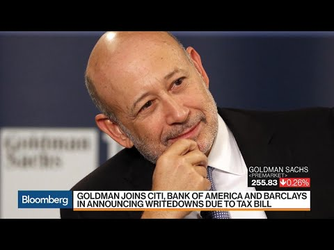 Goldman Sachs to Take One-Time $5 Billion Tax Hit