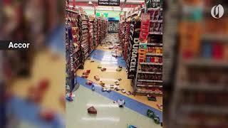 Massive earthquake hits Anchorage