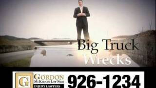 Trucking Accident & Car Wreck Attorney - Gordon McKernan - So Darn Big