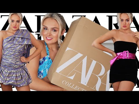 ZARA SALES HAUL / SUMMER TRY ON CLOTHING HAUL / HUGE DISCOUNTS