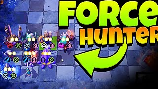 FORCE HUNTER KNIGHT in AUTO CHESS MOBILE