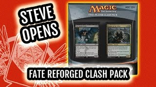 Magic: the Gathering Fate Reforged Clash Pack Opening! Profit vs. Power!