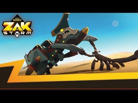 ZAK STORM  ⚔️ THE SHIPWRECKED IN THE SAND ⚡️ Super Pirate