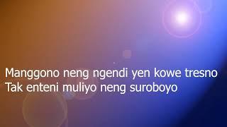 KANGEN SUROBOYO - DIDI KEMPOT