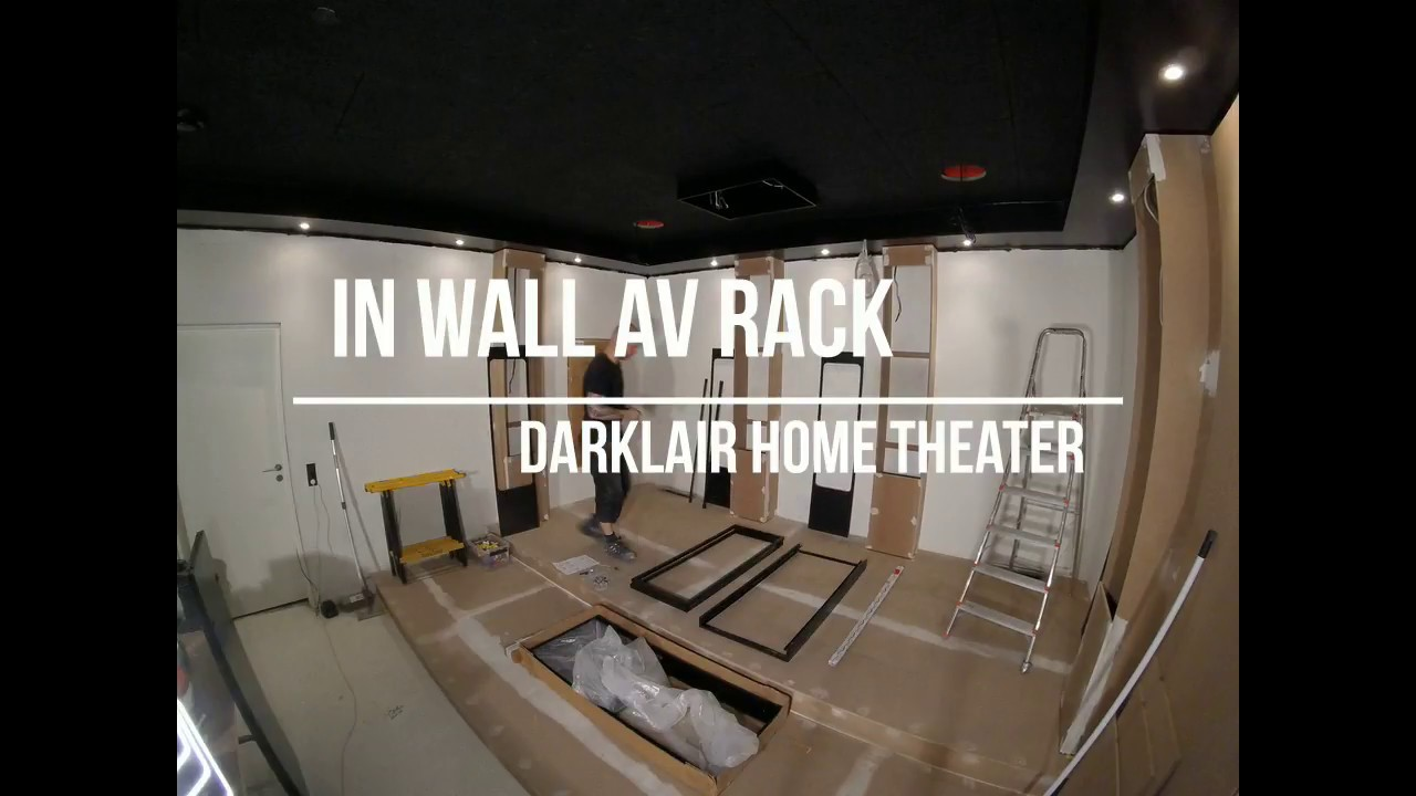 Home Theater 11 In Wall Av Rack