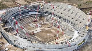 Construcción del Estadio del Atlético de Madrid: Wanda Metropolitano