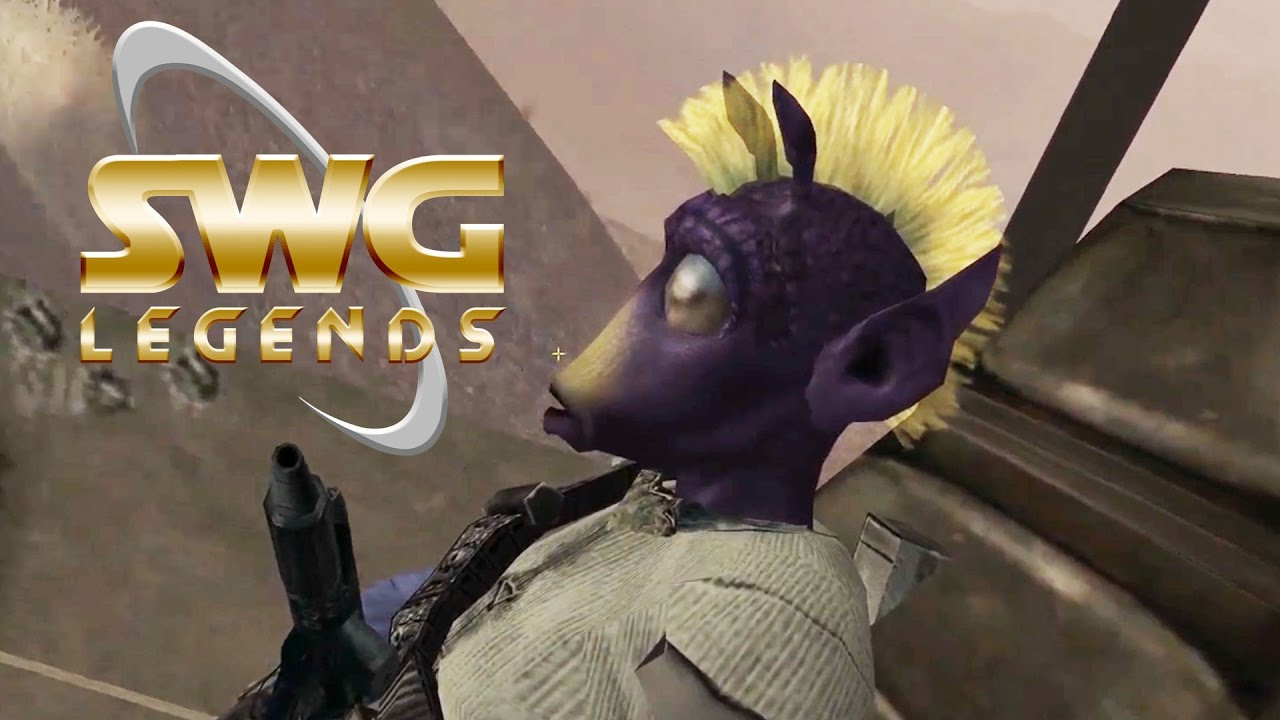 Star Wars Galaxies Legends – A Day On Tatooine – Classic MMORPG