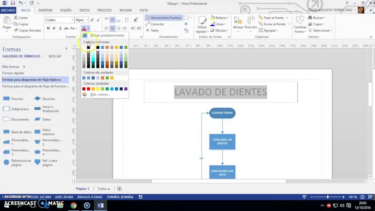 Como hacer un diagrama de flujo en visio 2013 youtube como hacer un diagrama de flujo en visio 2013 ccuart Choice Image