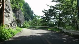 旧・鬼首峠1(旧R108、秋田県雄勝町)
