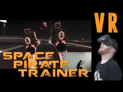 HTC Vive VR Shooter: Space Pirate Trainer gameplay [Virtual Reality]