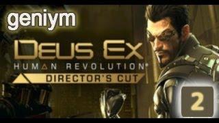 Стелс прохождение Deus Ex: Human Revolution - Director's Cut. (без убийств). Часть 2.
