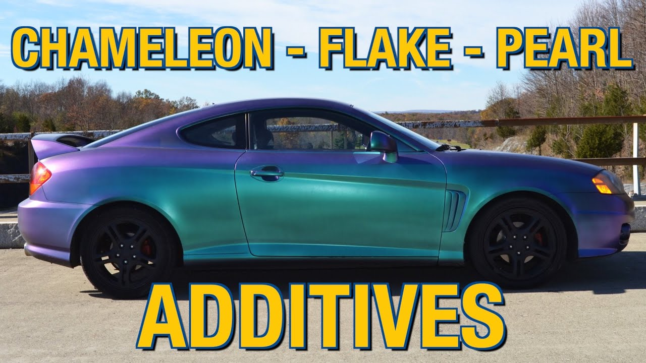Pearl blue car paint colors - Color Changing Paint Metal Flake Chameleon Pearl Additives Paint Elastiwrap Or Powder Youtube