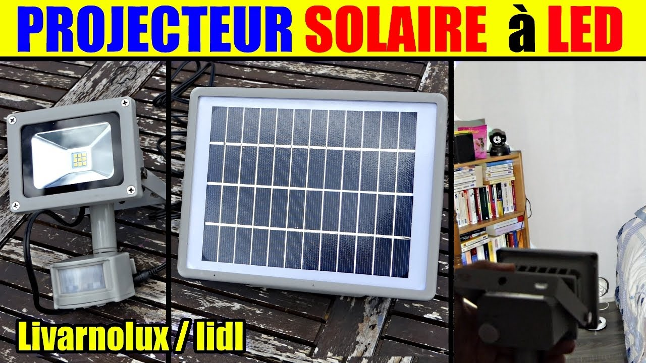 projecteur solaire led livarnolux lidl led solar spotlight led solarstrahler youtube. Black Bedroom Furniture Sets. Home Design Ideas