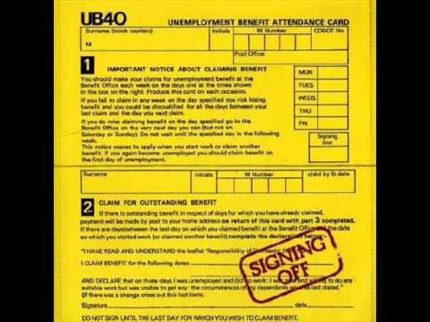 UB40 - Signing Off - 04 - Burden of Shame